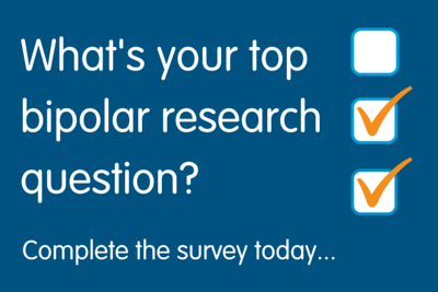 Help us shape future research into bipolar