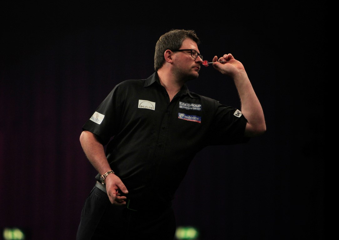 James Wade, darts player and Bipolar UK patron