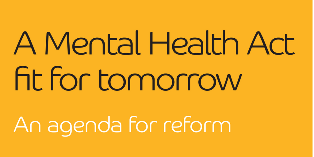 New Alliance report highlights concerns about the Mental Health Act