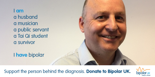 Jeremy Clark, Public Servant and Bipolar UK Trustee