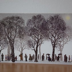 Twilight Trees Christmas Cards
